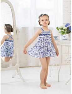 Пляжный комплект для девочек (платье+плавки) GPQ 011504 AF Sheila