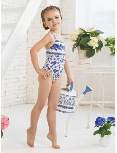 Купальник слитный для девочек GS 011501 AF Sandra