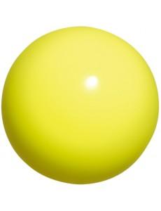 Мяч для художественной гимнастики Chacott 17 см (лимонный)