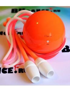 Мяч для художественной гимнастики Chacott 15 см (оранжевый)