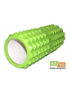 Ролл массажный (валик) для йоги и фитнеса 33 см