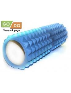 Ролл массажный (валик) для йоги и фитнеса 45 см