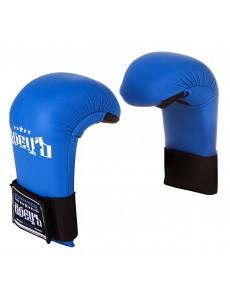 Накладки для каратэ (спарринговые перчатки) синие
