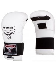 Накладки для каратэ (спарринговые перчатки) белые