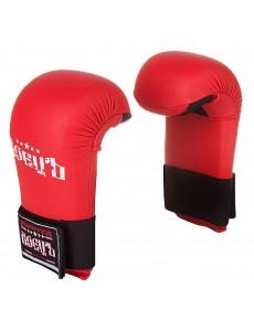 Накладки для каратэ (спарринговые перчатки) красные