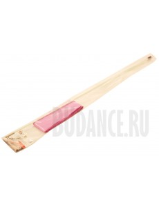 Лента для художественной гимнастики одноцветная с белой палочкой