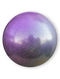 Мяч PASTORELLI GLITTER HV с переходом цвета (серебро-сиреневый)