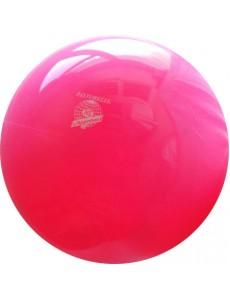 Розовый флюоресцирующий мяч для художественной гимнастики New Generation