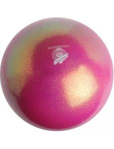 Мяч PASTORELLI GLITTER HV цвет Королевский пурпурный (King Magenta)