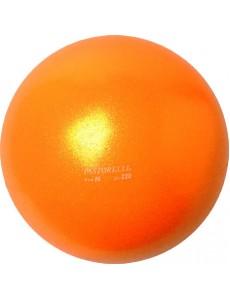Мяч оранжевого цвета PASTORELLI GLITTER HV 16см - 320гр