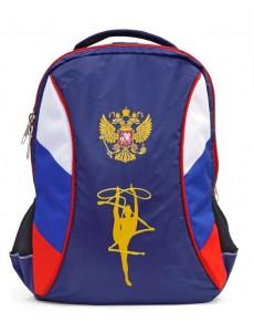 Рюкзак для художественной гимнастики XL с вышивкой