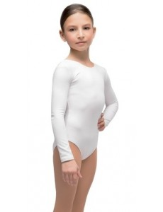 """Костюм гимнастический с длинным рукавом """"Силуэт"""" (хлопок)"""