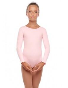 """Костюм гимнастический с длинным рукавом """"Силуэт"""" (хлопок) цветной"""