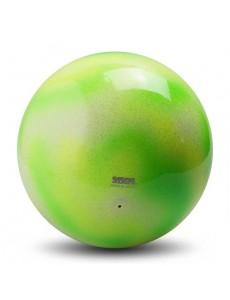 Мяч Sasaki M-207MVE MAGxLYMY переход цвета 17 см (Muscat green/ Lime yellow)