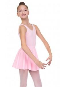 Короткая юбка-солнце для танцев