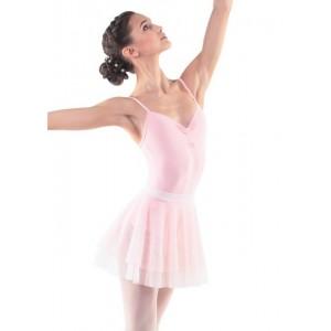 Двойная юбка-солнце для танцев