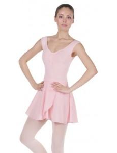 Короткая юбка с запахом для танцев