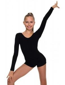 Комбинезон с длинным рукавом для гимнастики и танцев