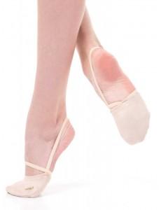 Полуносочки (иск. замша) для гимнастики и танцев OB52