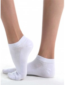 Носки спортивные низкие (гладкий след)