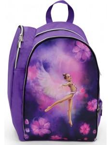 Рюкзак для художественной гимнастики M1 сиреневый