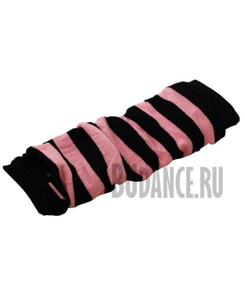 Гетры (розовый/черный)