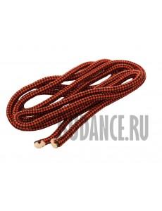 Скакалка гимнастическая (красн/черн)