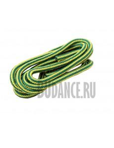Скакалка гимнастическая (желто-зеленая)
