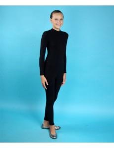 Комбинезон детский гимнастический для девочек облегающего кроя
