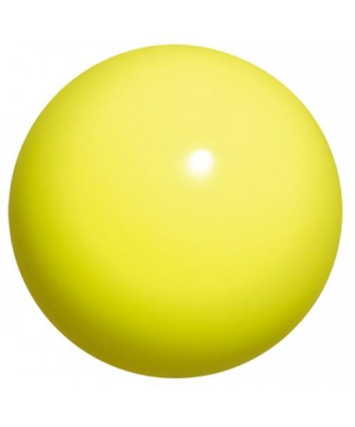 Мяч для художественной гимнастики Chacott 15 см (лимонный)