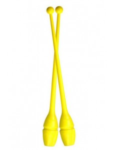Булавы флюо-желтого цвета PASTORELLI 44,5 cm