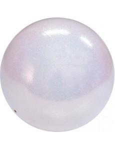 Мяч PASTORELLI GLITTER HV сверкающий флуо-белый (Fluo White)