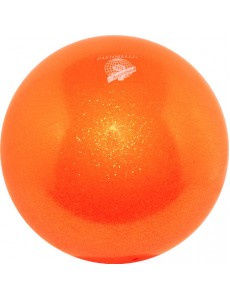 Мяч PASTORELLI GLITTER HV сверкающий флуо-оранжевый (Fluo Orange)