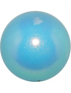 Мяч PASTORELLI GLITTER HV сверкающий голубой (Light Blue)