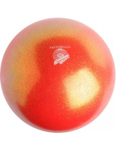 Мяч PASTORELLI GLITTER HV сверкающий оранжевый (Orange)