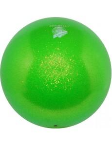 Мяч PASTORELLI GLITTER HV сверкающий зеленый (Green)