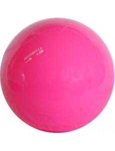 Мяч флюоресцирующего розового цвета PASTORELLI 16см - 320гр