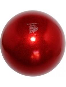 Мяч PASTORELLI GLITTER HV сверкающий красный (Red)