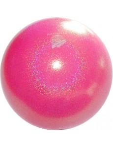 Мяч PASTORELLI GLITTER HV флуоресцентный цвет Rosa Fluo Baby