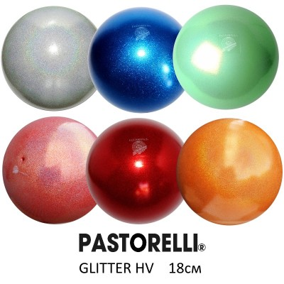 Мяч PASTORELLI 18 см 400 гр GLITTER HIGH VISION