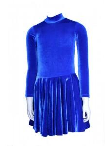 Платье рейтинговое для танцев велюр Альера
