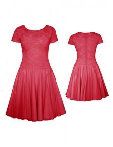 Платье рейтинговое гипюровое ПРА05