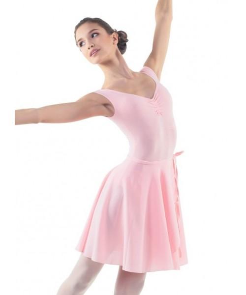 Юбка с запахом длиной до колена для танцев