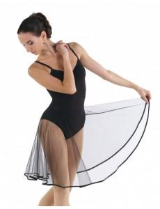 Юбка-солнце до колена для народно-характерного танца и балета