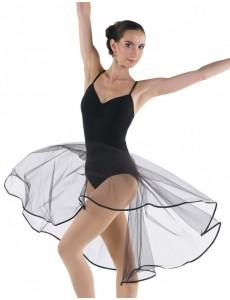 Юбка-солнце до середины икры для народно-характерного танца и балета
