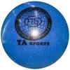 Мяч гимнастический TA Sport цвет металлик 15 см
